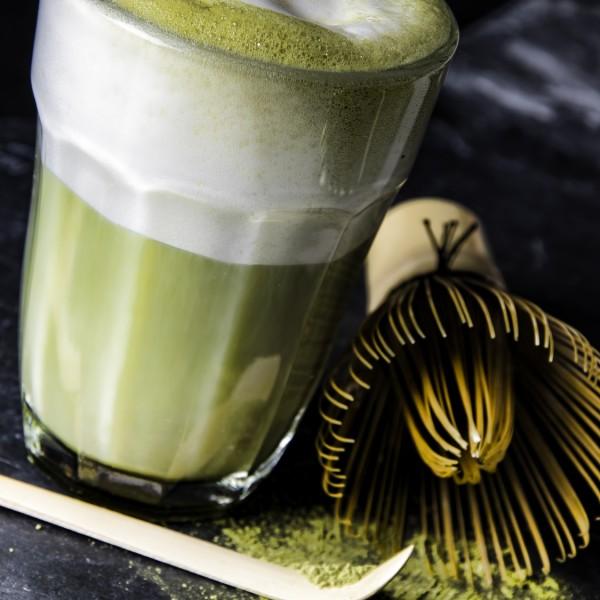 Matcha-Latte – Grüntee mit Milch
