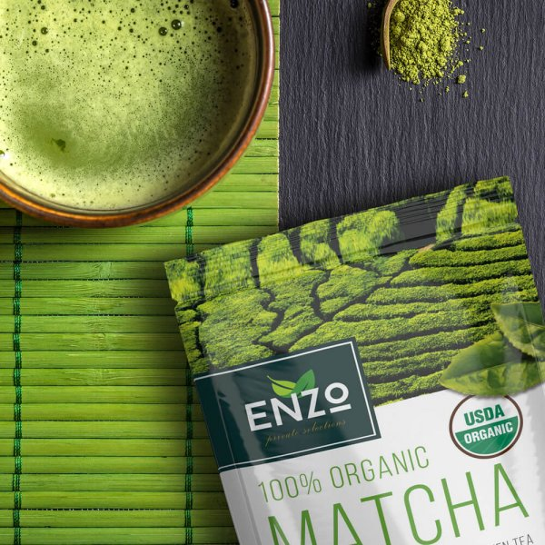 matcha powder by enzo 4oz