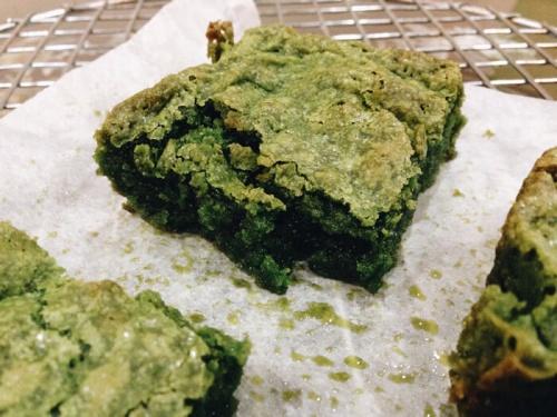 Matcha Brownie Recipe | Green Tea Brownies